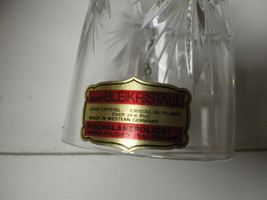 VINTAGE ECHT BLEIKRISTALL CRYSTALL BELL W-LABEL~~star of david~W.Germany - $9.99