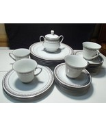 "26 PIECES NORITAKE ""BARSTOW"" DINNERWARE CHINA~~dinner plts~etc~mid century - $79.99"