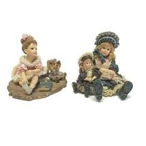 2 Boyds Yesterdays Child Figurine Victorian Series 1 I Wanna Be 11 Balle... - $29.69