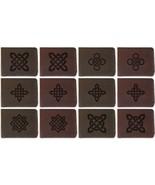 Men's Celtic Circle Tattoo Handmade Genuine Leather Flipup Window Wallet... - $35.50