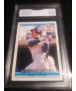 1992 Donruss Benito Santiago GMA graded 8.5 NM-MT+ All Star Baseball Car... - $9.99