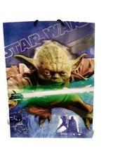 Hallmark Star Wars Large Double Sided Gift Bag Darth Vader/Yoda ©2013 - $6.76