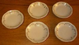 Old Vintage Johnson Brothers England Butter Pats -5- - $24.95