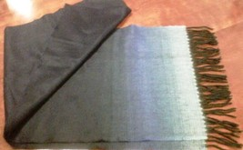 """Blue scarf, 64"""" x 12"""" - $12.50"""