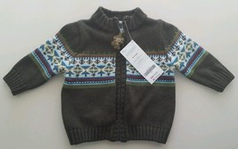 Nwt Gymboree Boys Sweater!! Absolutely Adorable!! Size 0 3 Months! In Store $32 - $19.79