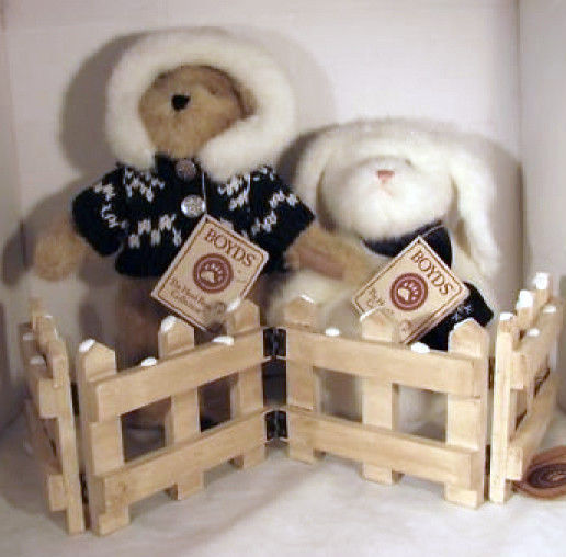 "Primary image for Boyds Bears ""Frostina with Kristy"" QVC Exclusive Set- #C6015-NWT- Retired"