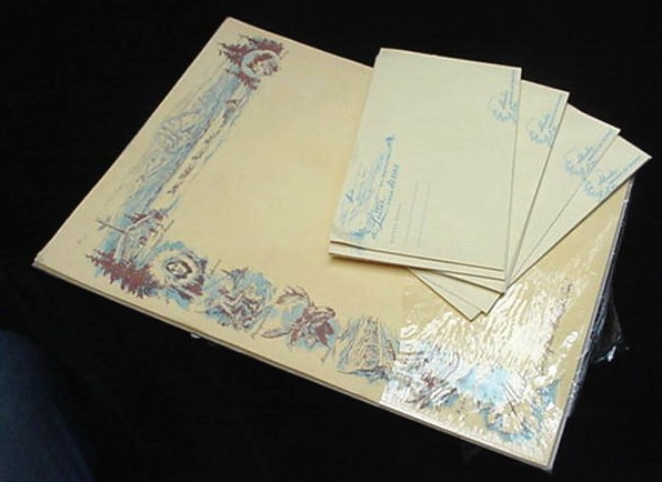 OLD ALASKA PROMOTIONAL STATIONERY & ENVELOPES ESKIMO