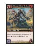 """World Of Warcraft THOMAS """"SLASH"""" ROBINSON Blood Of Gladiators 143 - $0.10"""