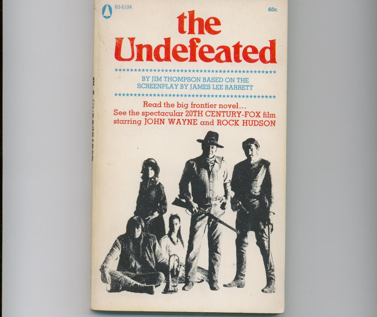 Jim Thompson's THE UNDEFEATED - paperback original