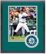 Brad Miller  2014 Seattle Mariners -11 x 14 Team Logo Matted/Framed Photo  - $43.95