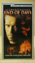 Universal End Of Days VHS Movie  * Plastic * - $4.69