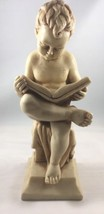 Vintage Boy Figurine Made In Italy - $9.49