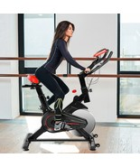 Stationary Indoor Exercise Cycling Bike with Heart Rate Sensors and LCD ... - $229.99