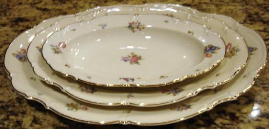 MAYFAIR Porcelain Medium Oval Serving Platter Hutschenreuthe