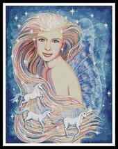 Unicorn Dreams cross stitch chart Artecy Cross Stitch Chart - $14.40