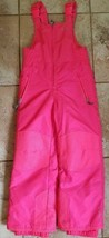 Champion Size Youth 5/6 Winter Snow Suit Bibs Neon Pink - $9.99