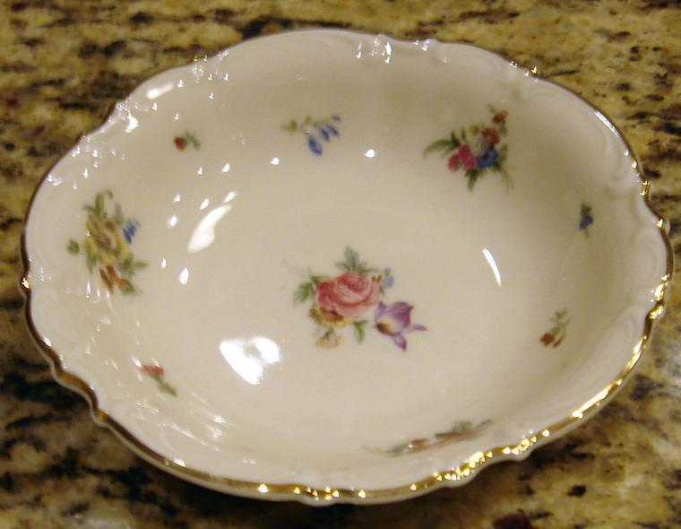 MAYFAIR Porcelain Fruit Sauce Dessert Bowl Hutschenreuther