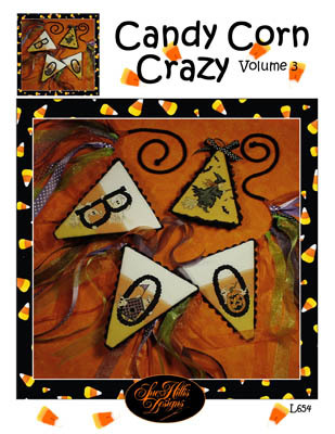 Primary image for Candy Corn Crazy Vol 3 halloween fall cross stitch chart Sue Hillis Designs