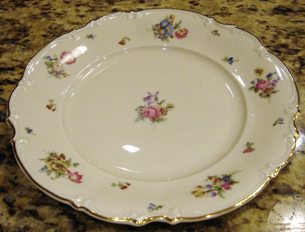 Hutschenreuther MAYFAIR Porcelain Dinner Plate ...