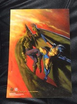 1994 Fleer Ultra Prints Marvel Wolverine Vs Sauron X-MEN 6 1/2 X 10 - $2.97