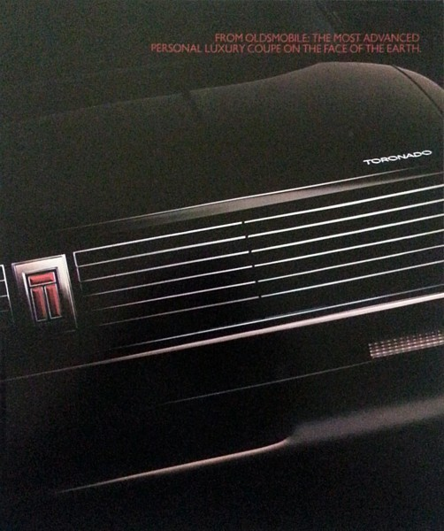 Primary image for 1986 Oldsmobile TORONADO sales brochure catalog US 86