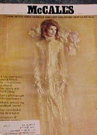 MARCH 1971 MCCALL'S MAGAZINE JACKIE KENNEDY