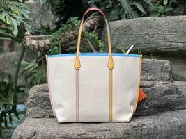 Tory Burch Perry Canvas Oversized Tote image 4