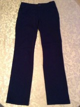 Girls Justice pants Size 8 Regular blue uniform pants - $12.99