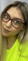 New LIU JO LJ 2625 628 Matte Strawberry Red 51mm Rx Women's Eyeglasses Frame  - $99.99