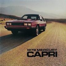 1979 Mercury CAPRI sales brochure catalog US 79 RS Turbo Ghia - $8.00