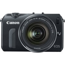 """Canon EOSM 18MP Compact Systems Camera 3""""LCD EF-M18-55mm IS STM lens,90E... - $555.74"""