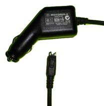 Genuine OEM Motorola SYN7818A car charger cell phone power adapter - $6.95