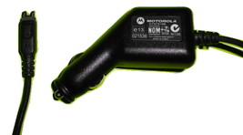 Genuine OEM Motorola SYN7818B car charger cell phone power adapter - $6.95