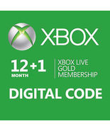 12+1 =13-Month Xbox 360/ONE Live Gold Membershi... - $59.90