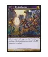 World Of Warcraft DIVINE JUSTICE Blood Of Gladiators 42 - $0.10