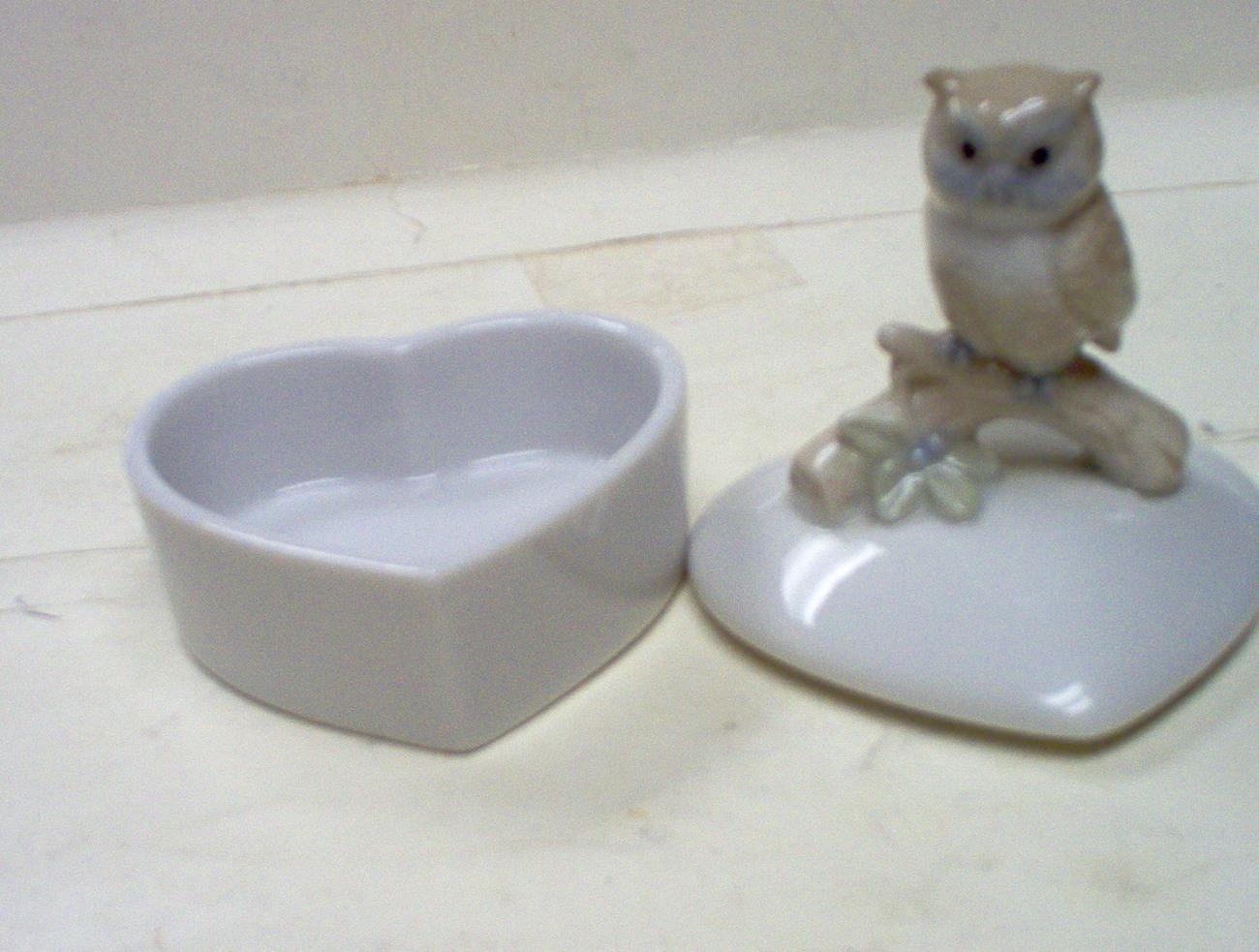 OTAGIRI OWL TRINKET BOX