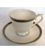 Lenox China Langdon Gate Ambassador Collection Footed Cup & Saucer Mint ... - $24.74