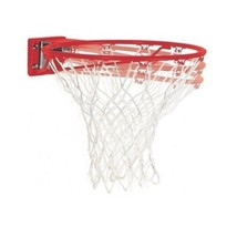 Spalding Replacement Rim + Net Red Basketball Rims Ring Goal Hoop Steel ... - $40.50