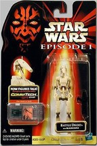 Star Wars Episode I The Phantom Menace Battle Droid Clean  C9 .0100 - $9.69