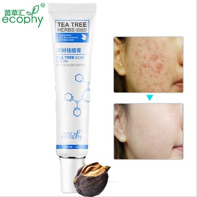 Tea Tree Extract Against Black Dots Cream Scar Removal Blackhead Acne Skin Care