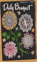 Crochet Patterns Doily Bouquet Crochet Doilies Doily Bouquet - $12.95