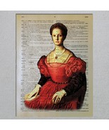 Elizabeth Bathory Blood Countess Serial Killer Dictionary Page Art Print - $11.00