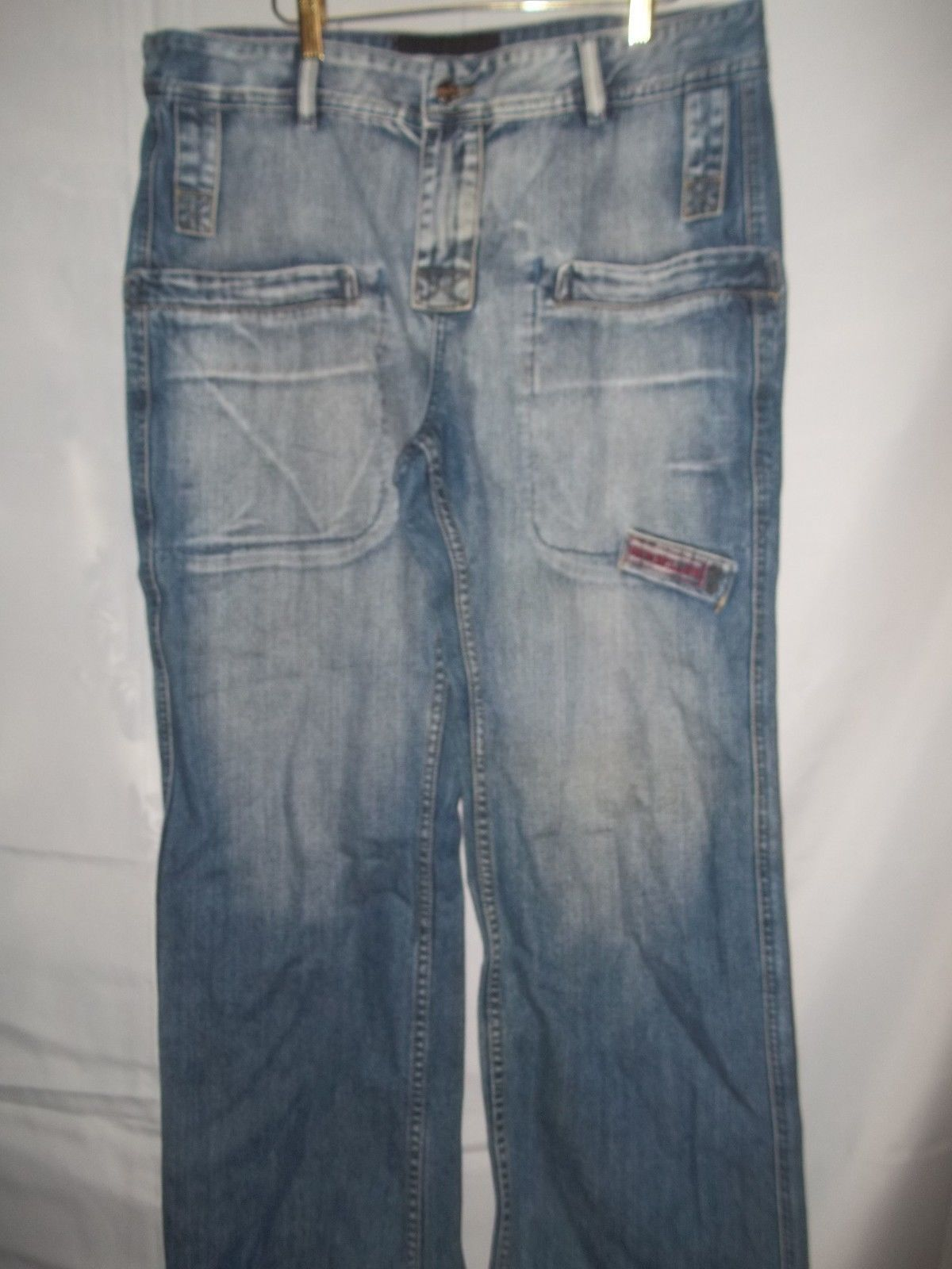 Primary image for Mens Size 38 x 30 Geno Bellini RN# 67847Blue Jeans Designer