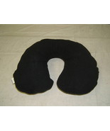 ETA Travel Pillow Black Fleece Snoozzz - $8.55