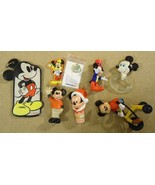 Disney Mickey Mouse Collectable Toys Qty 7 Pin - $24.14