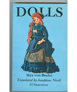 Dolls Max von Boehn Classic Doll Collecting Reference Book - $8.99