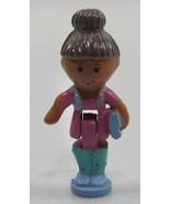 1993  Original Vintage Figure Polly Pocket Dolls Schoolhouse - Mitzi - $7.52