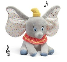Dumbo Musical Stuffed Plush Elephant Toy By Disney Baby (col) J30 - $138.59