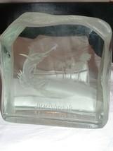 Vintage Art Glass Innisbrook Florida Marlin Fish 1979 General Electric R... - $100.00
