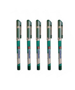 5x Cello Butterflow ** GREEN ** Ink Ball Pen +5 Refill ** LIMITED STOCK ... - $7.59